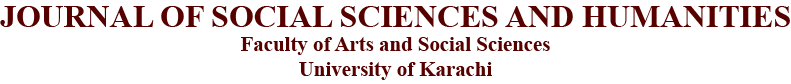 Journal Of Social Sciences And Humanities